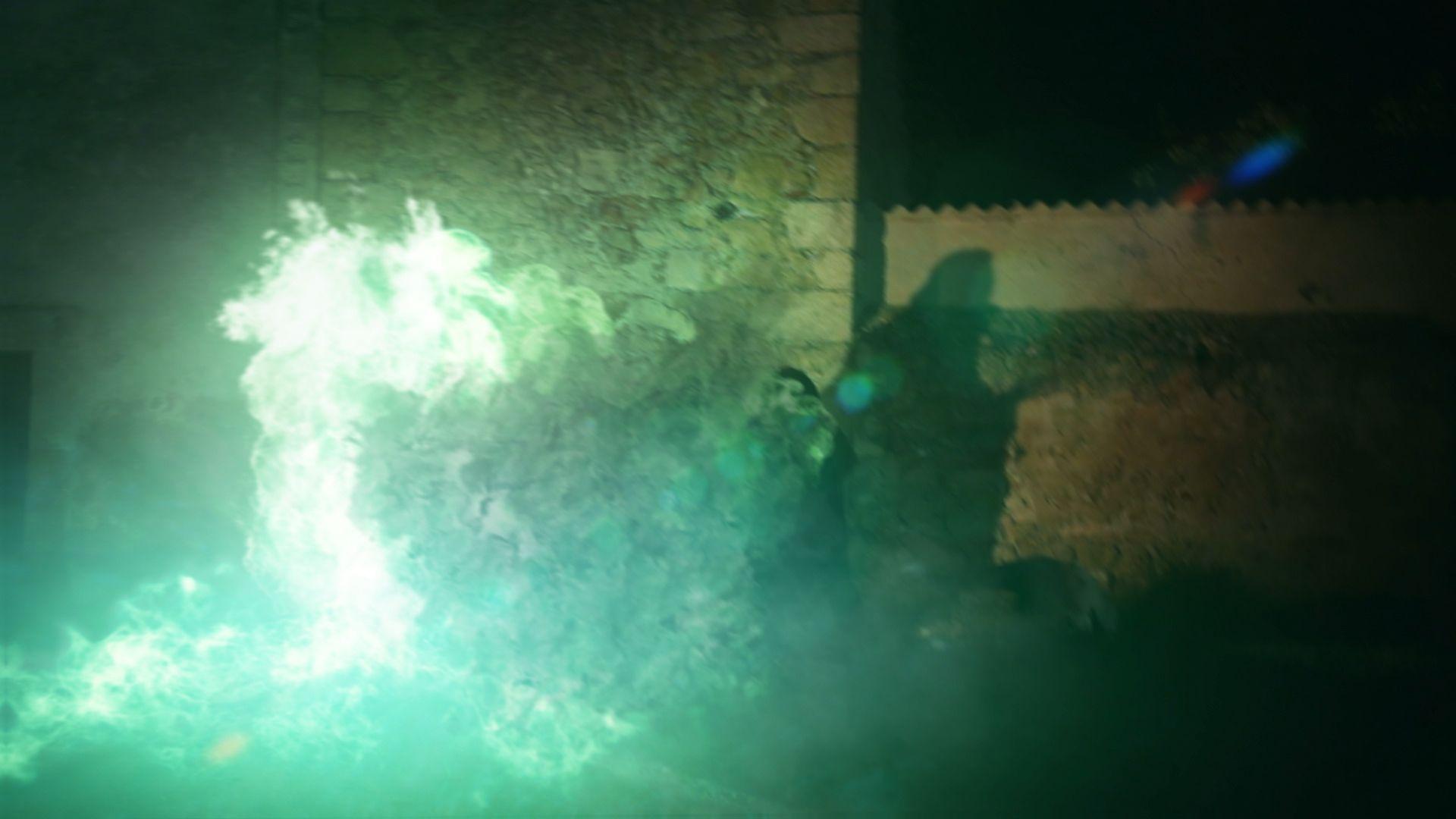 VFX explosion shot