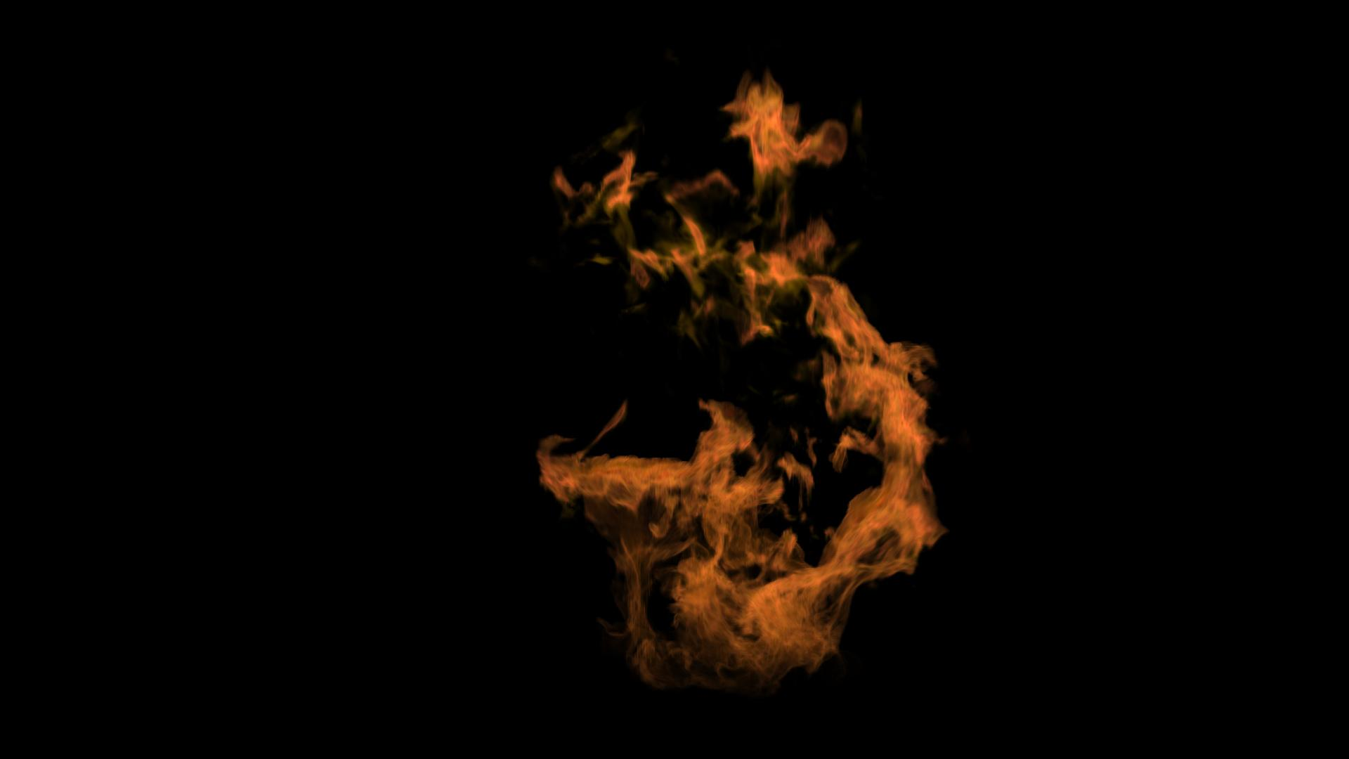 VFX Fire Simulation